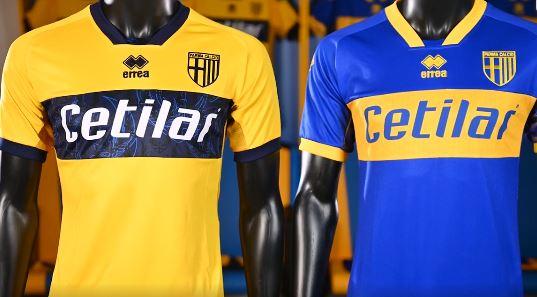 La seconda maglia del Parma: doppia versione gialloblù - Forza Parma